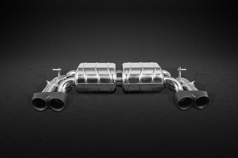 Capristo Sportowy układ wydechowy z klapami 435i F32, F33 i F36