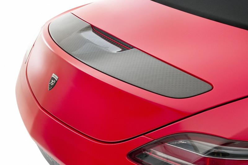 Hamann Tylny spoiler SLS AMG Roadster