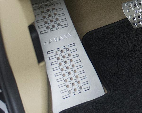 Hamann Aluminiowy podnóżek X6 E71