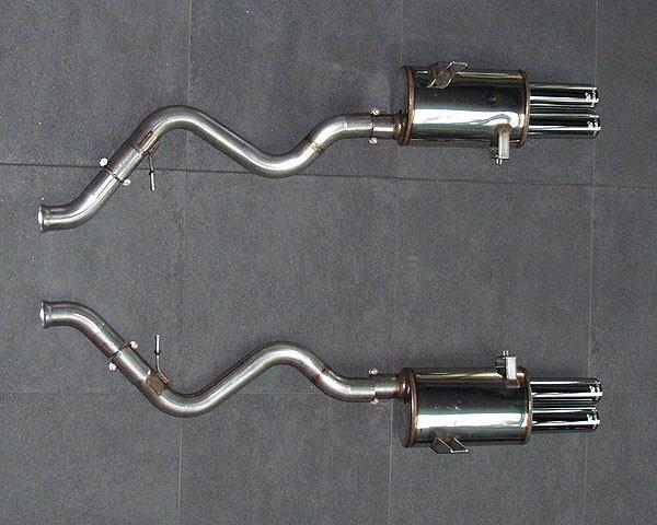 Hamann Sportowy tłumik tylny M3 E92 i E93