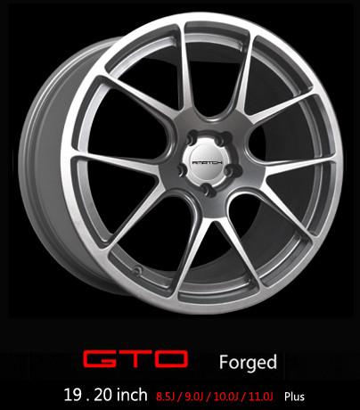 "F.MATCH Kute Felgi GTO Plus 19"" i 20"""