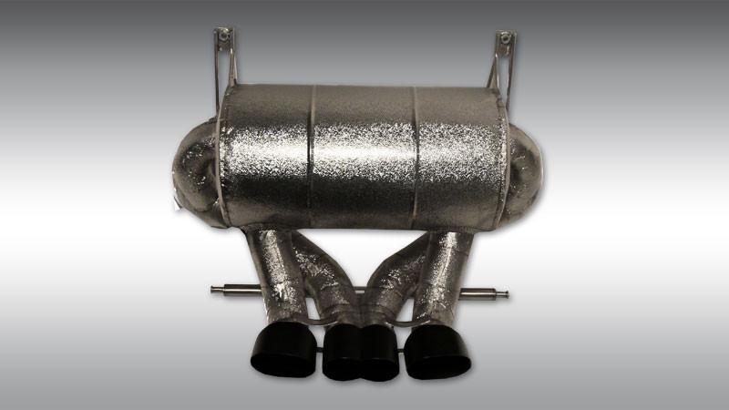 Novitec Sportowy układ wydechowy bez klap Aventador