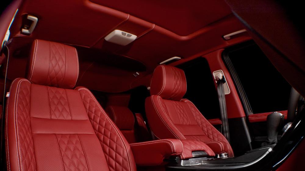 Kahn Skórzana podsufitka Range Rover Sport 2009
