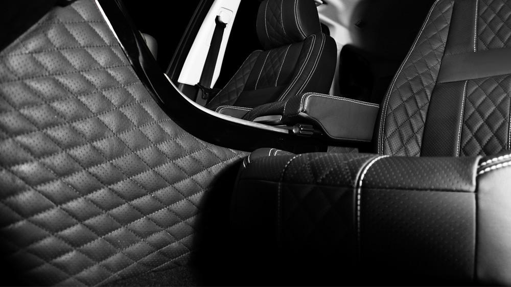 Kahn Skórzany tunel środkowy Range Rover Sport 2009