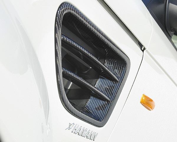 Hamann Wloty powietrza w nadkolach Range Rover Sport 2009