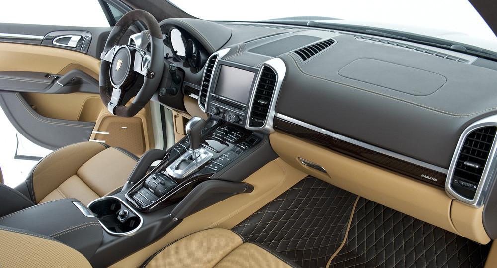 Hamann Pakiet wnętrza carbon - Porsche Cayenne 958