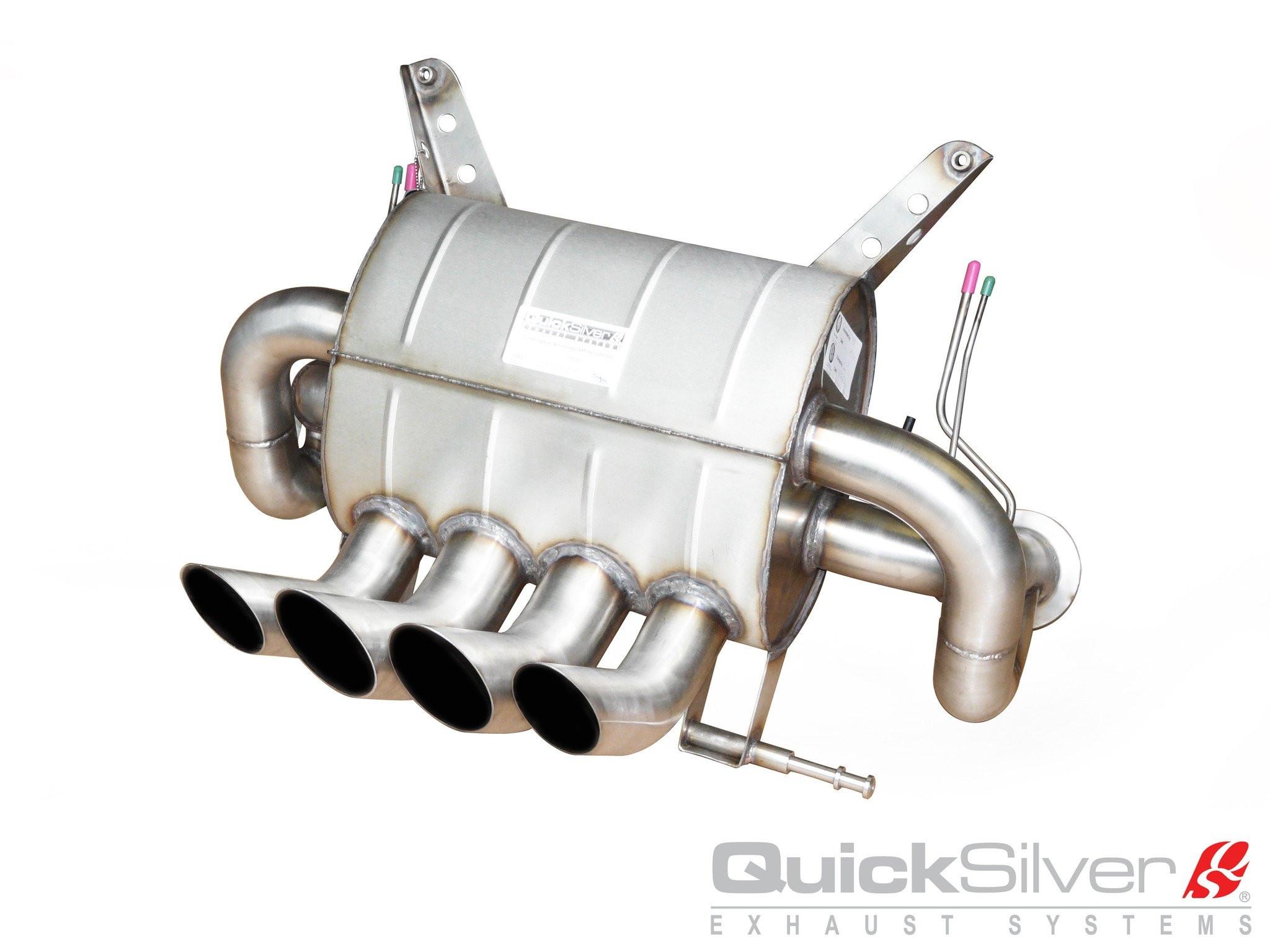 QuickSilver Sportowy układ wydechowy z klapami Aventador