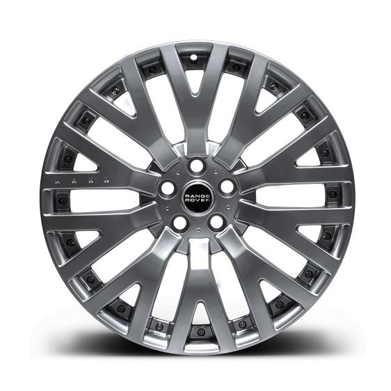 """Kahn Zestaw felg RS-2 Silver 22"""" Range Rover 2009"""