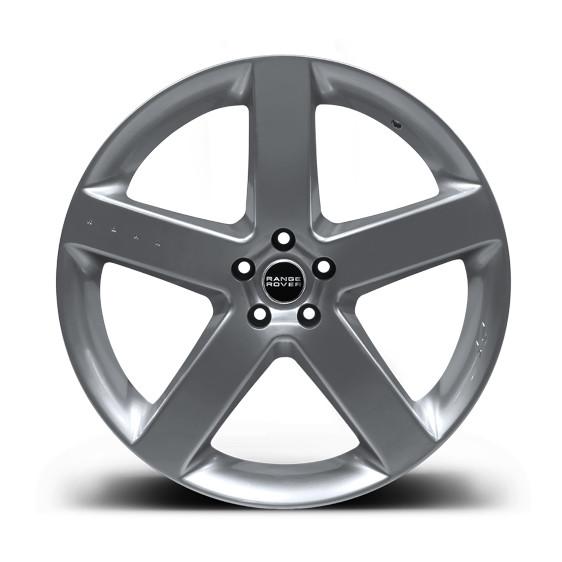 """Kahn Zestaw felg RS-R Silver 22"""" Range Rover Sport 2009"""