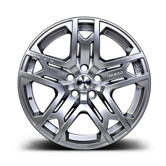 """Kahn Zestaw felg RS 600 Silver 22"""" Range Rover 2013"""