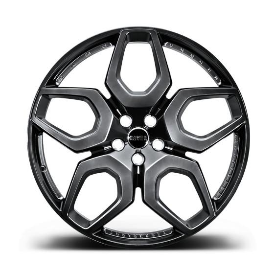 "Kahn Zestaw kutych felg Santagata Dark Liquid Silver 23"" Range Rover Sport 2013"