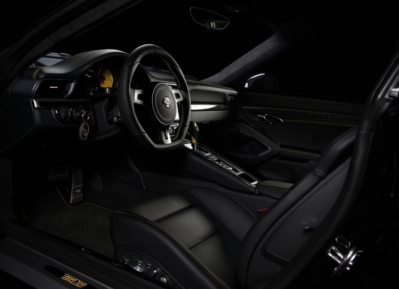TechArt Pakiet wnętrza Carbon 911 991