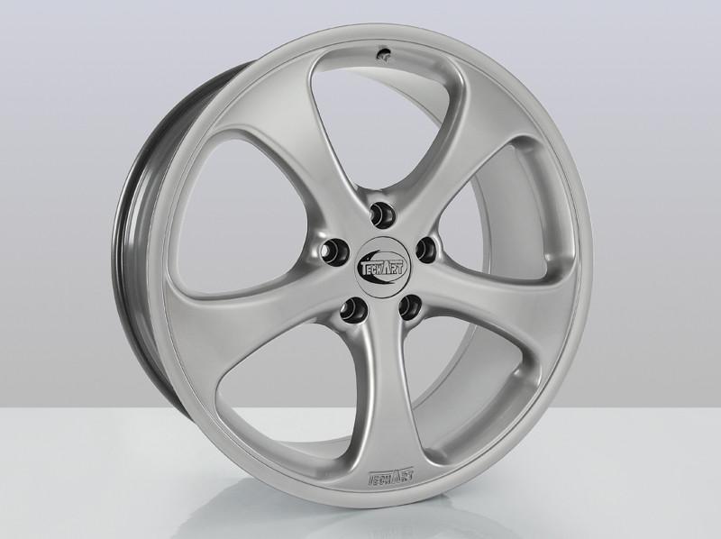 """TechArt Felga Formula I Silver 21"""" Cayman 981"""
