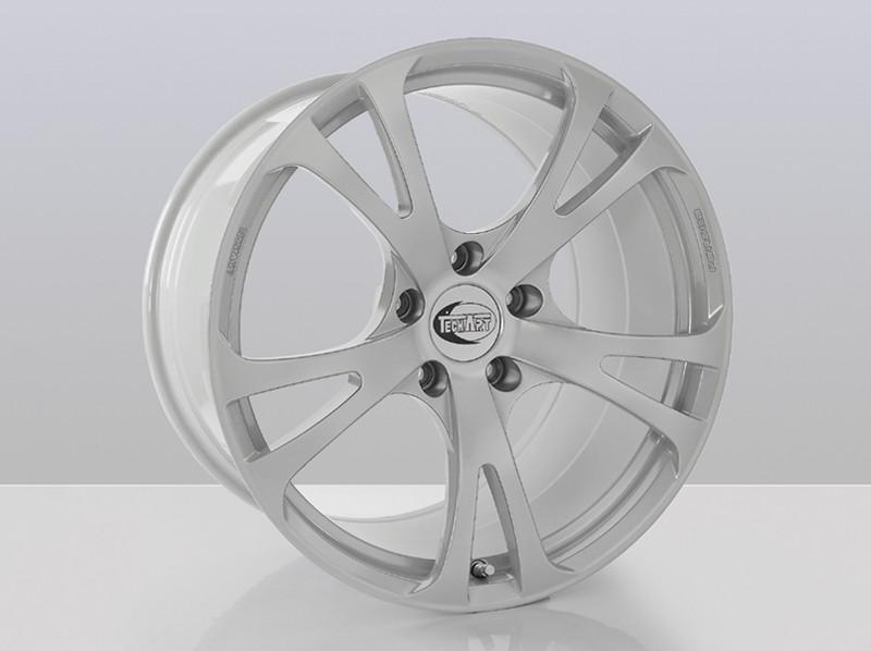 "TechArt Felga Formula III Silver 20"" 911 991 Turbo"