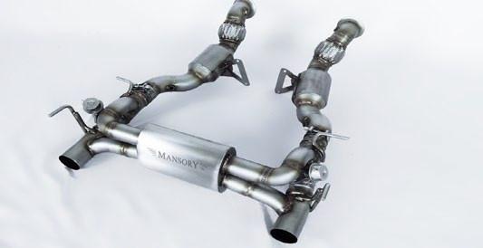 Mansory Sportowy układ wydechowy 488 GTB i Spider