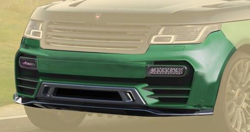 Mansory Przedni zderzak Range Rover 2013
