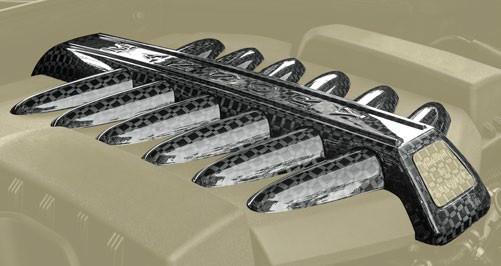 Mansory Pokrywa silnika Wraith