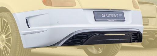 Mansory Tylny zderzak II Continental GT, GTC 2012