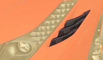 Mansory Wloty powietrza w nadkolach 458 Speciale