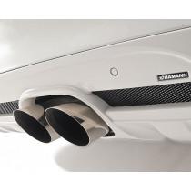 Hamann Centralny tłumik tylny X6 xDrive50i E71