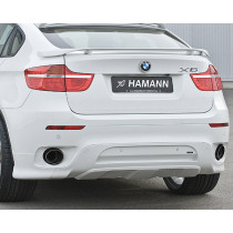Hamann Sportowy tłumik tylny X6 E71