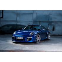 TechArt Przedni spojler II GTS ze światłami do jazdy dziennej 911 997.2