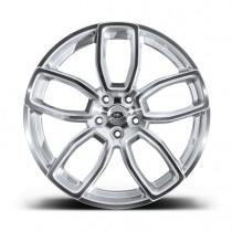 """Kahn Zestaw felg 600 LE Diamond Silver 23"""" Range Rover 2013"""