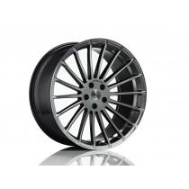 """Hamann Zestaw felg z oponami Anniversary EVO Hyper Black 23"""" Range Rover Sport 2013"""