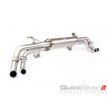 QuickSilver Sportowy tłumik tylny z klapami R8 V8
