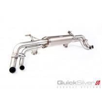 QuickSilver Sportowy tłumik tylny z klapami R8 V10