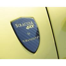Mansory Emblematy w nadkolach 488 GTB i Spider