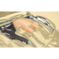 Mansory Osłony silnika F12 Berlinetta