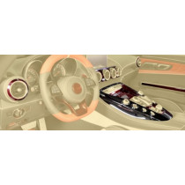 Mansory Pakiet wnętrza Carbon AMG GT S