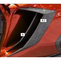 Mansory Dokładki bocznych wlotów powietrza do silnika Aventador