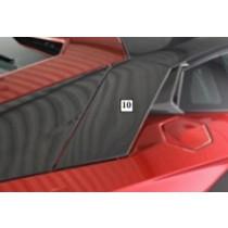 Mansory Przedna część górnych wlotów powietrza do silnika Aventador