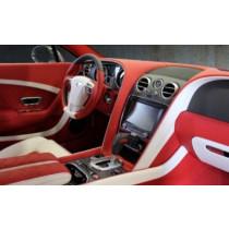 Mansory Pakiet wnętrza Carbon Continental GT, GTC 2012