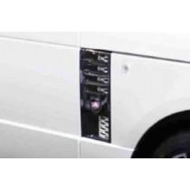 Mansory Wloty powietrza w nadkolach Range Rover 2009