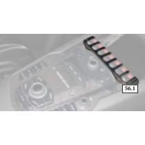 Mansory Panel w konsoli środkowej Aventador