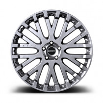 """Kahn Zestaw felg RS-X Silver 22"""" Range Rover 2013"""