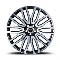 """Kahn Zestaw kutych felg RS 650 Diamond Chrome 23"""" Range Rover 2009"""