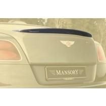 Mansory Tylny spoiler I Continental GT, GTC 2012