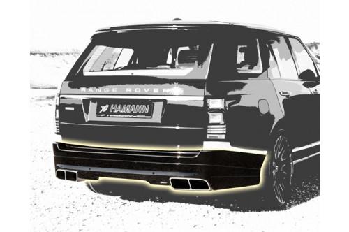 Hamann Tylny zderzak Range Rover 2013
