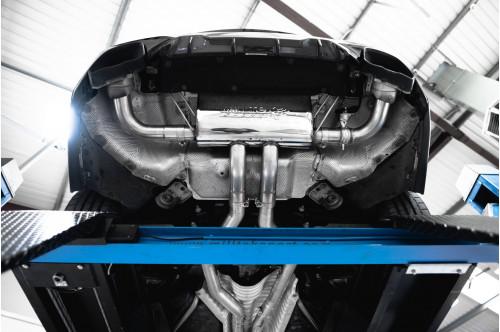Milltek Sportowy układ wydechowy z klapami M340i G20
