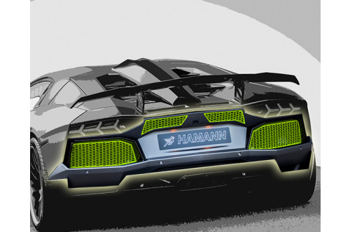 Hamann Tylny zderzak Aventador