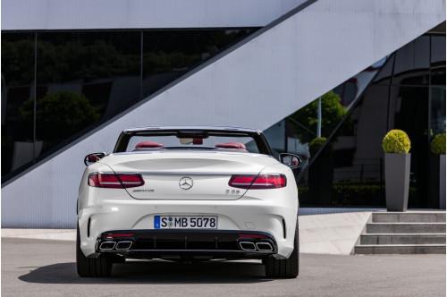 Mercedes-Benz Konwersja tyłu 63 AMG MOPF S C217 i A217