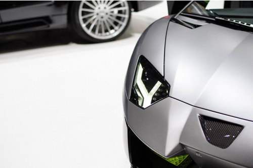 Hamann Wloty powietrza w zderzaku Aventador