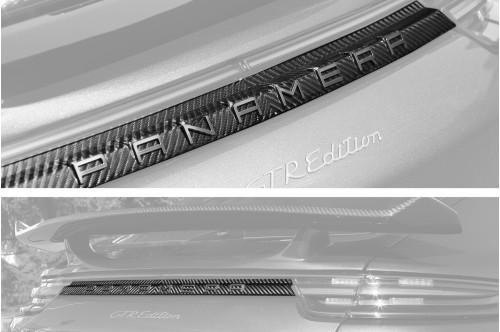 Topcar Tylna listwa Panamera 971