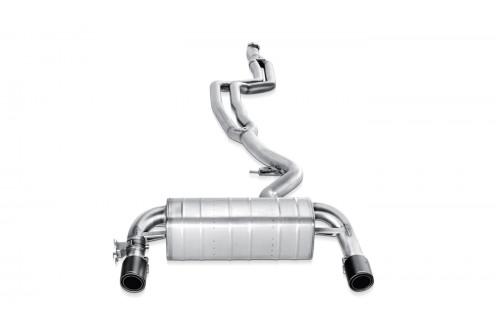 Akrapovic Sportowy układ wydechowy z klapami 335i F30 i F31