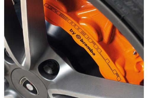 GEMBALLA Sportowy system hamulcowy 911 991