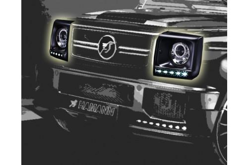 Hamann Obudowy reflektorów G 63 i G 65 AMG W463